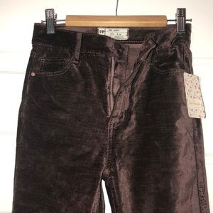 NWT FP velvet jeans